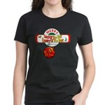 Navy Christmas Women's Dark T-Shirt