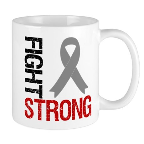 Brain Cancer Fight Strong Mug