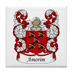Amorim Family Crest Tile Coaster