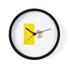 Cute Papal Wall Clock