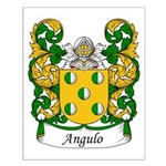 Angulo Family Crest Small Poster