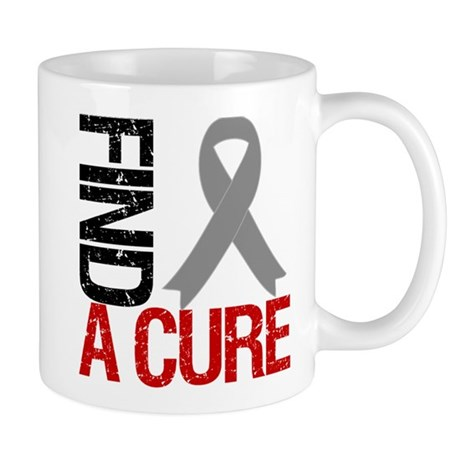 Brain Cancer Find A Cure Mug