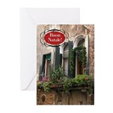 Italian Window Greeting Cards (Pk of 20)