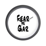 Fear the Gar Wall Clock