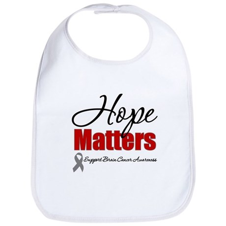 Hope Matters Brain Cancer Bib