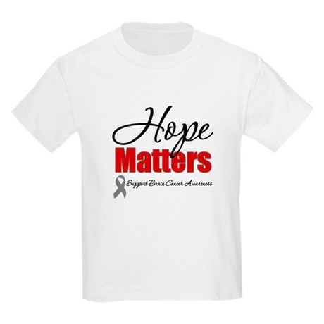 Hope Matters Brain Cancer Kids Light T-Shirt