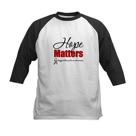 Hope Matters Brain Cancer Kids Baseball Jersey