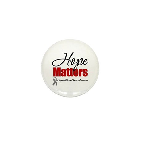 Hope Matters Brain Cancer Mini Button