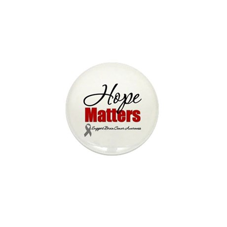 Hope Matters Brain Cancer Mini Button (10 pack)