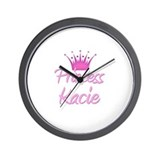 Princess Kacie Wall Clock