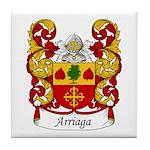 Arriaga Family Crest Tile Coaster
