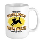 Secret Beagle Agility Mug