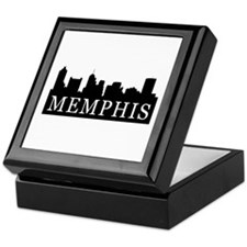 Memphis Skyline Keepsake Box