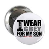 "I Wear Grey Son 2.25"" Button"