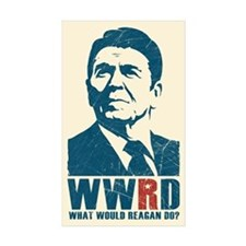 WWRD - What Would Reagan Do? Stickers (10 pk)
