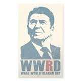 WWRD - What Would Reagan Do? Bumper Stickers