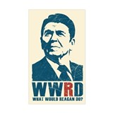 WWRD - What Would Reagan Do? Decal