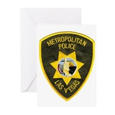 Metro Vegas PD Greeting Cards (Pk of 20)