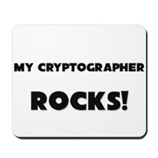 MY Cryptographer ROCKS! Mousepad