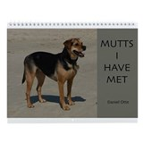Mutts Wall Calendar