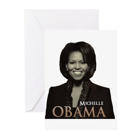 Michelle Obama Greeting Cards (Pk of 10)