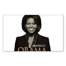 Michelle Obama Rectangle Decal
