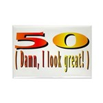50 Damn, I Look Good Rectangle Magnet (10 pack)
