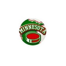 Minnesota Hockey Mini Button (10 pack)