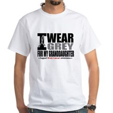I Wear Grey Granddaughter Shirt
