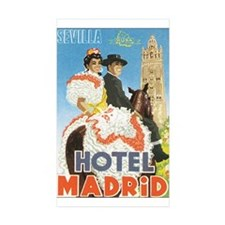 Sevilla Spain Rectangle Sticker 50 pk)