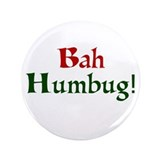 "Bah Humbug 3.5"" Button (100 pack)"