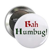 """Bah Humbug 2.25"""" Button"""