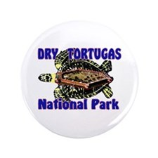 "Dry Tortugas National Park 3.5"" Button"