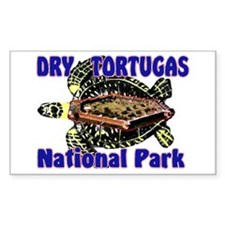 Dry Tortugas National Park Rectangle Decal