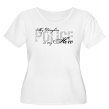 My Daughter is My Hero - POLICE T-Shirt