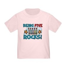 BEING FIVE ROCKS! T