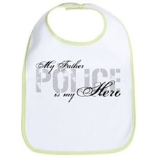 My Father is My Hero - POLICE Bib