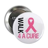 "Walk4ACure Breast Cancer 2.25"" Button (10 pack)"