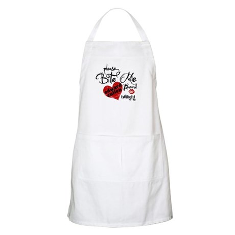 Bite Me Edward Cullen BBQ Apron