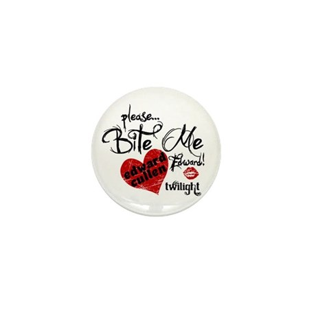 Bite Me Edward Cullen Mini Button (10 pack)