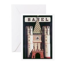 Basel Switzerland Greeting Cards (Pk of 10)