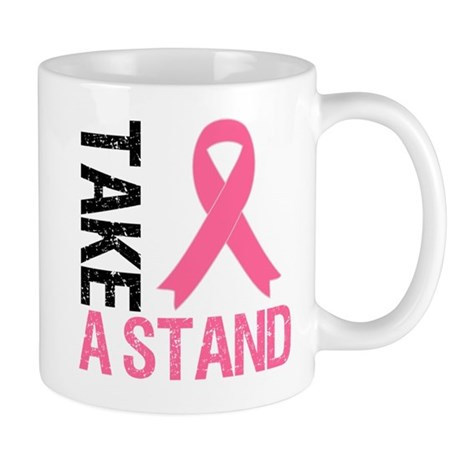 TakeAStand Breast Cancer Mug