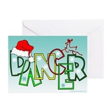 Dance Holidays Greeting Cards (Pk of 20)