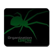 DROW Mousepad (green spider)