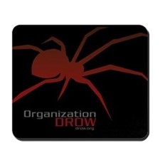 DROW Mousepad (red spider)