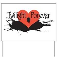 Twilight Movie Fan Yard Sign