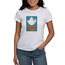 Peace Now Dove Tee