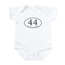 Barack Obama, 44th President Infant Bodysuit
