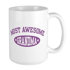 Most Awesome Grandma Mug