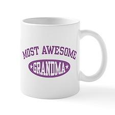 Most Awesome Grandma Mug